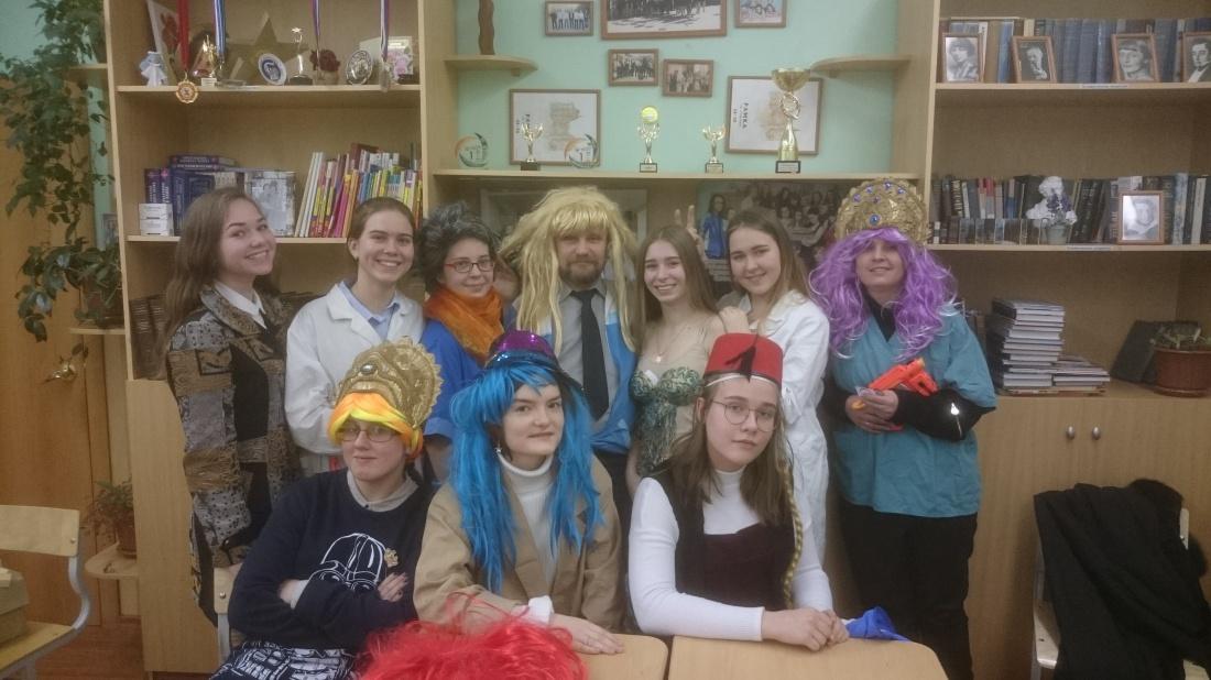 Праздник в 10 классе